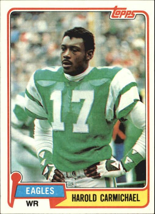 1981 Topps #35 Harold Carmichael