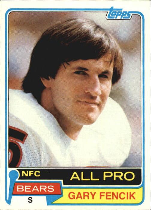 1981 Topps #40 Gary Fencik