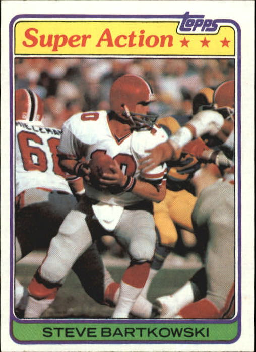 1981 Topps #42 Steve Bartkowski SA
