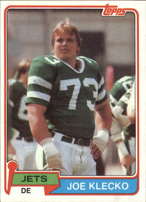 1981 Topps #47 Joe Klecko