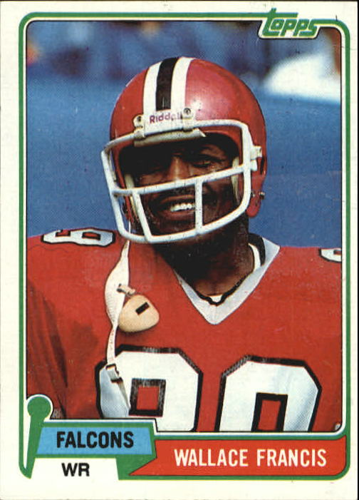 1981 Topps #51 Wallace Francis