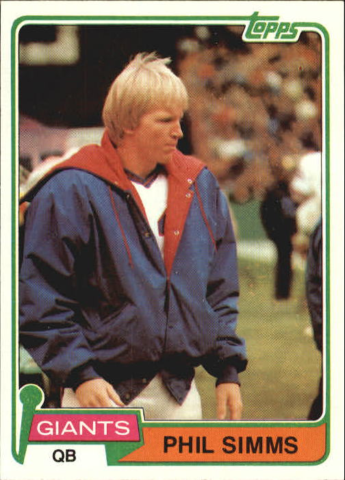 1981 Topps #55 Phil Simms