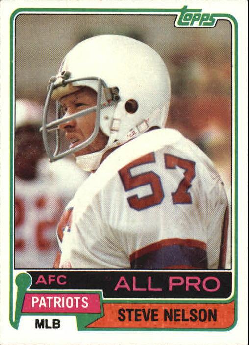 1981 Topps #60 Steve Nelson