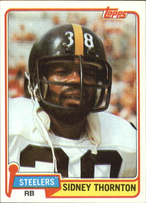 1981 Topps #61 Sidney Thornton