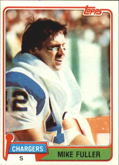 1981 Topps #67 Mike Fuller