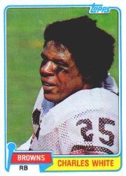 1981 Topps #69 Charles White RC