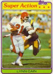 1981 Topps #73 Lynn Cain SA