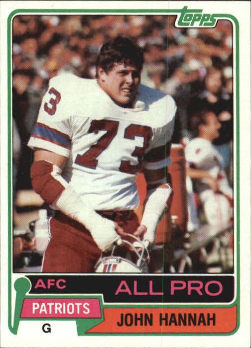 1981 Topps #80 John Hannah AP