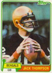 1981 Topps #81 Jack Thompson