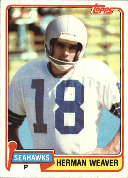 1981 Topps #87 Herman Weaver
