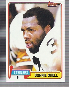 1981 Topps #90 Donnie Shell
