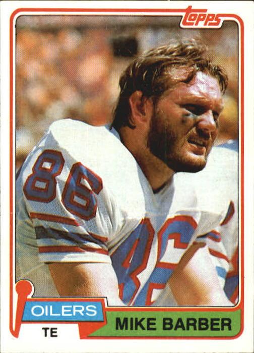 1981 Topps #99 Mike Barber