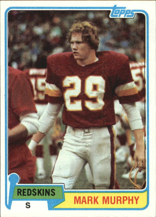 1981 Topps #104 Mark Murphy RC