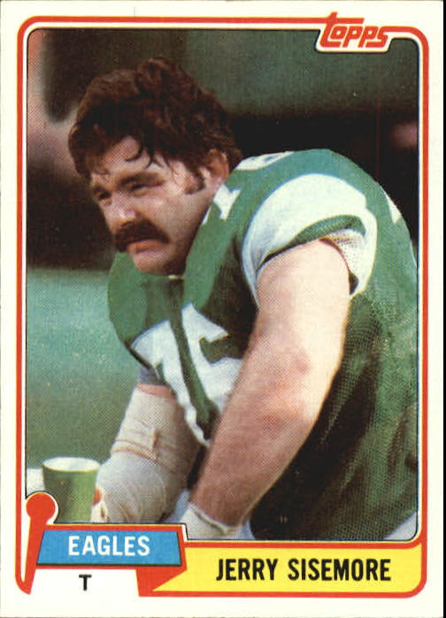 1981 Topps #112 Jerry Sisemore