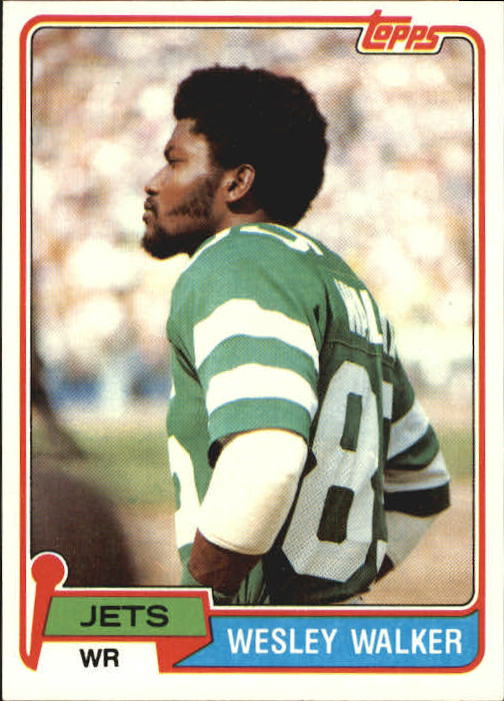 1981 Topps #118 Wesley Walker