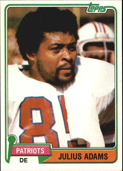 1981 Topps #139 Julius Adams
