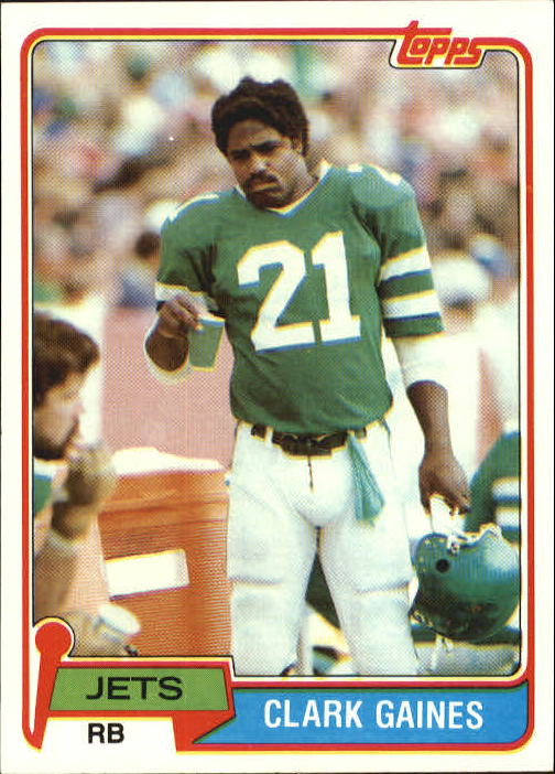 1981 Topps #144 Clark Gaines