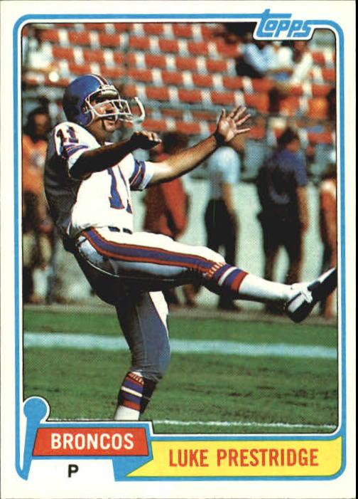 1981 Topps #164 Luke Prestridge