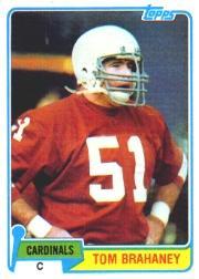 1981 Topps #178 Tom Brahaney RC