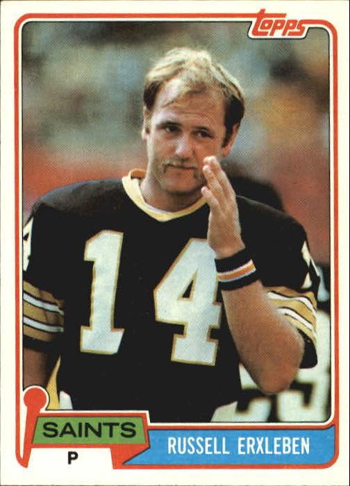 1981 Topps #184 Russell Erxleben