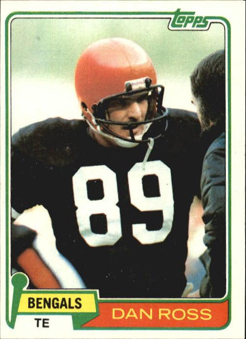 1981 Topps #192 Dan Ross RC