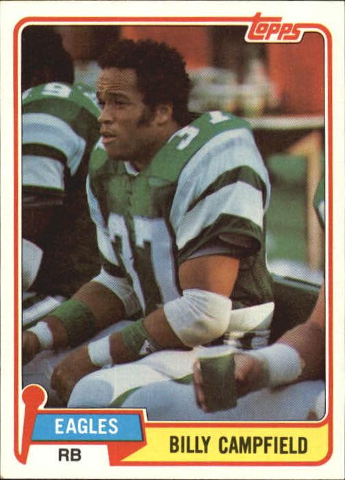 1981 Topps #199 Billy Campfield