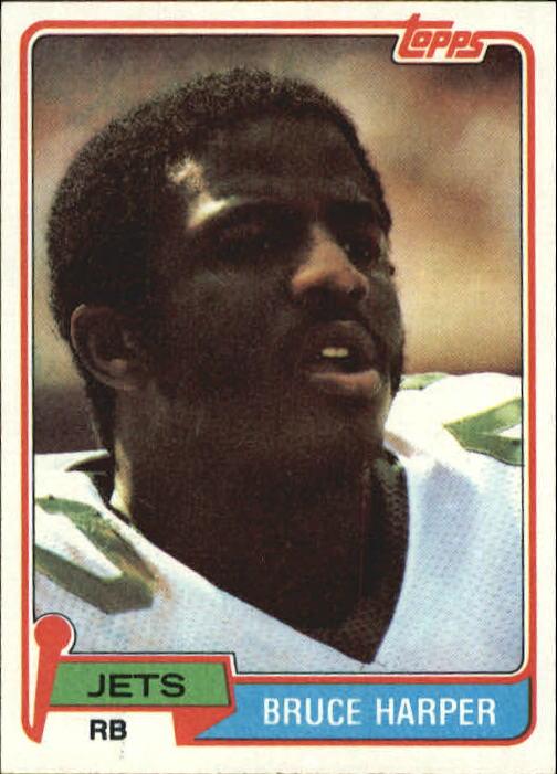 1981 Topps #211 Bruce Harper