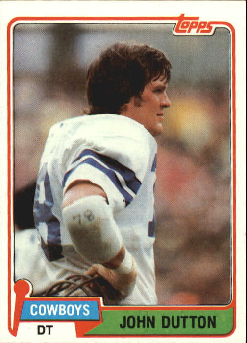 1981 Topps #249 John Dutton