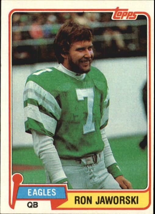 1981 Topps #280 Ron Jaworski