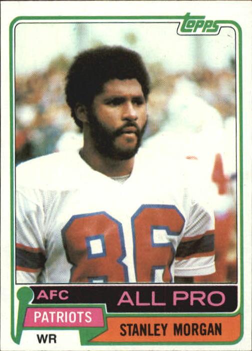 1981 Topps #290 Stanley Morgan AP