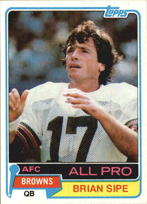1981 Topps #350 Brian Sipe AP