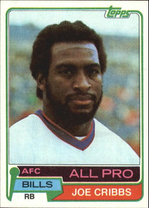 1981 Topps #360 Joe Cribbs AP RC