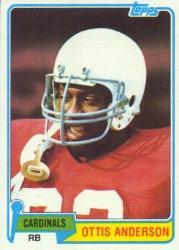 1981 Topps #365 Ottis Anderson