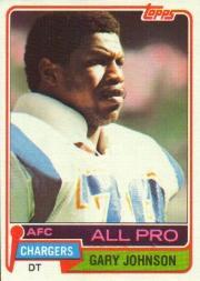 1981 Topps #370 Gary Johnson
