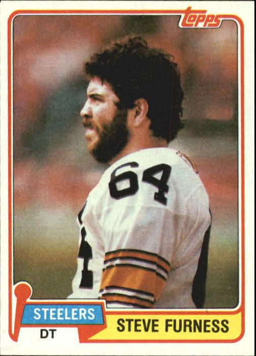 1981 Topps #436 Steve Furness