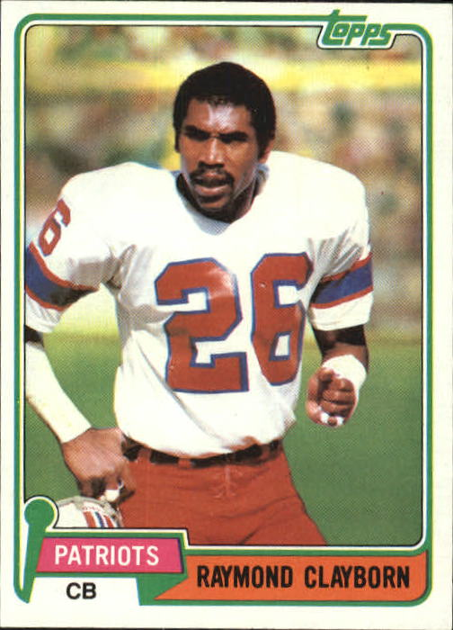 1981 Topps #452 Raymond Clayborn