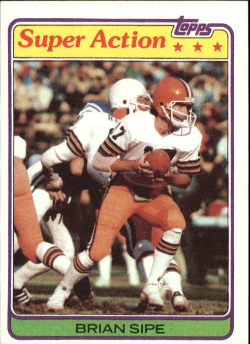 1981 Topps #486 Brian Sipe SA