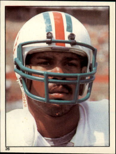 1981 Topps Stickers #26 Nat Moore