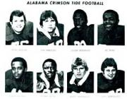 1982 Alabama Team Sheets #1 Sheet 1