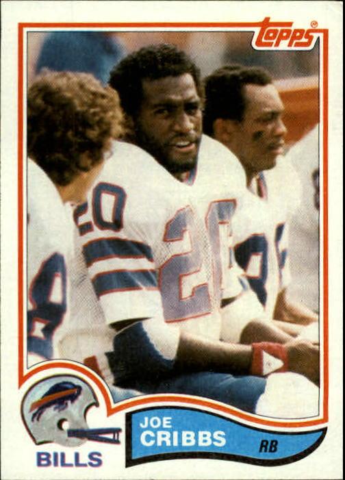 1982 Topps #26 Joe Cribbs