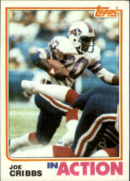 1982 Topps #27 Joe Cribbs IA