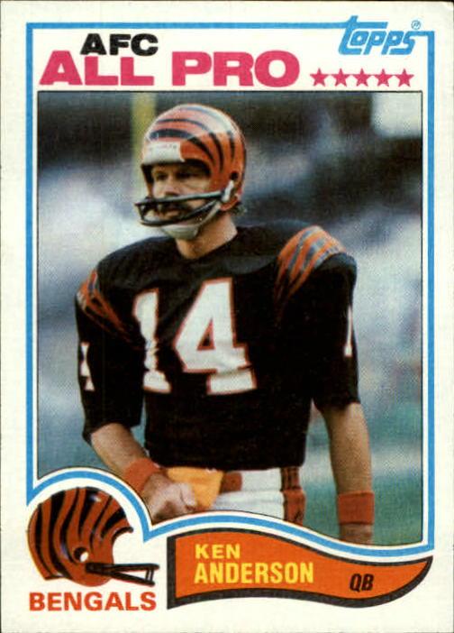 1982 Topps #38 Ken Anderson AP