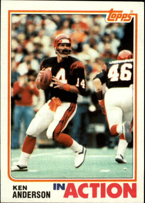 1982 Topps #39 Ken Anderson IA
