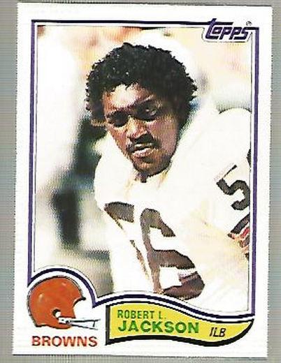 1982 Topps #65 Robert L. Jackson  RC