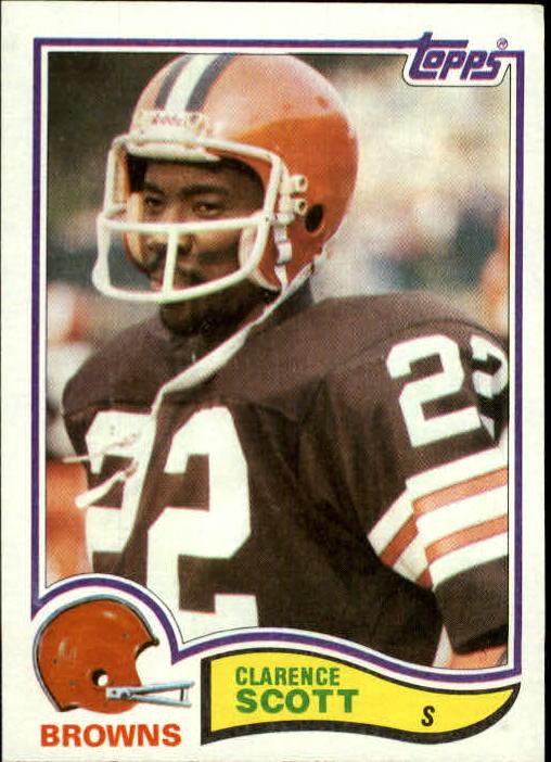 1982 Topps #73 Clarence Scott