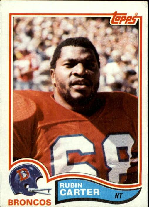 1982 Topps #77 Rubin Carter RC