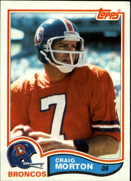 1982 Topps #81 Craig Morton