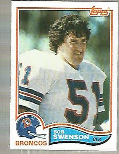 1982 Topps #87 Bob Swenson RC