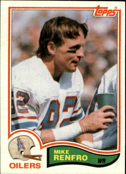 1982 Topps #103 Mike Renfro
