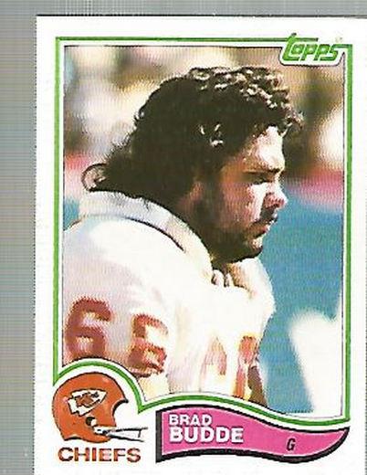 1982 Topps #111 Brad Budde RC